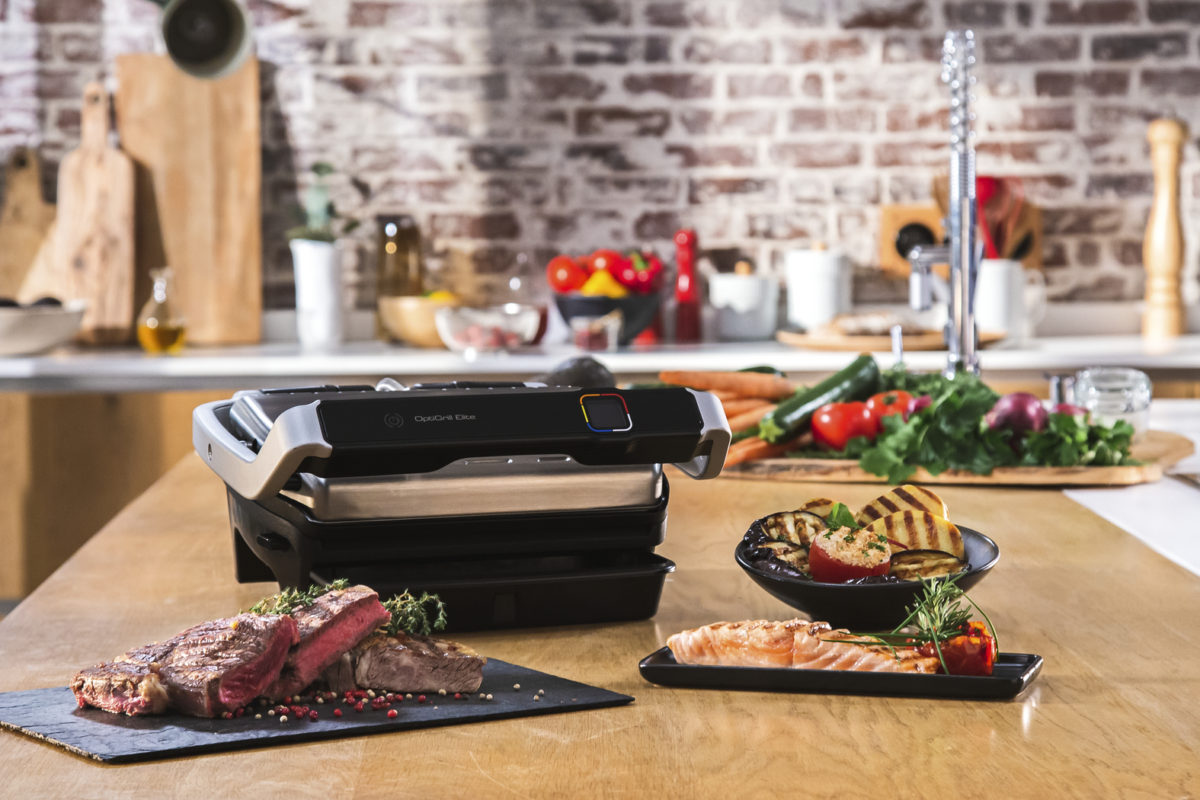 Grill and chill met Tefal