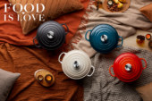 Food is love by Le Creuset