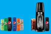 Je favoriete PepsiCo-frisdrank maak je voortaan zelf met SodaStream