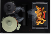 'Easy' koken dankzij de kookplaat met automatisch afzuiging van Novy